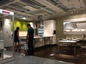 Zona de ambiente. Ikea.